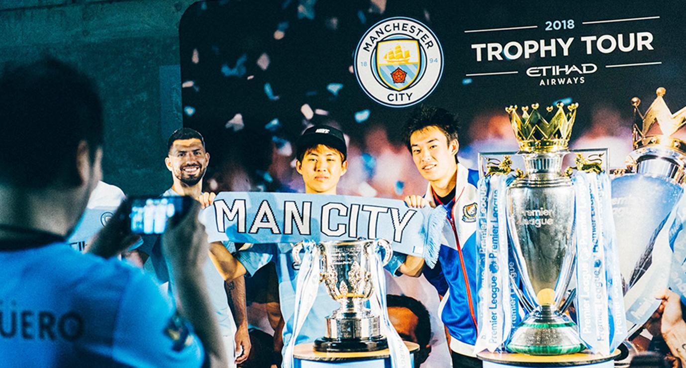 Manchester City トロフィーツアー